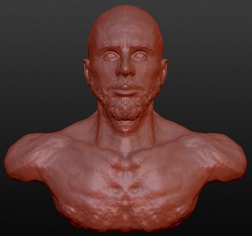 3D Brandon Bryant - 01