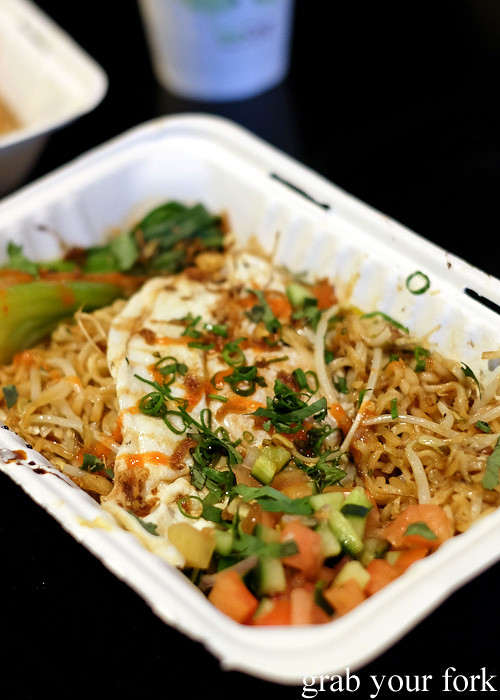 Maggi goreng from Yang's Malaysian Food Truck in Sydney