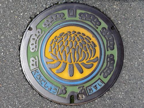 Kurodasho Hyogo, manhole cover (兵庫県黒田庄町のマンホール)