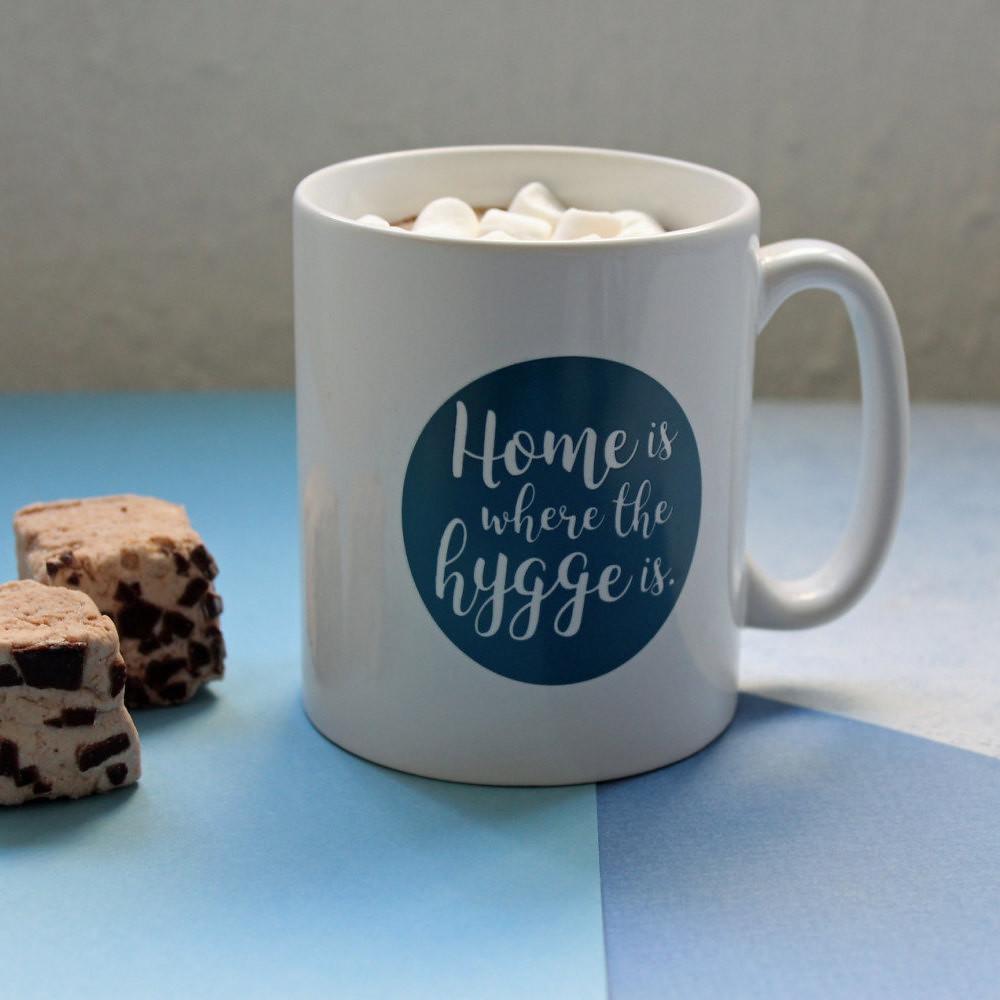 Hygge Mug by Suzy Hackett UK on Etsy