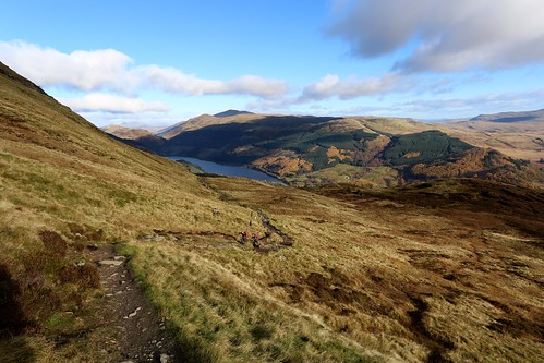 The path above Loch Lubnaig | by Nick Bramhall