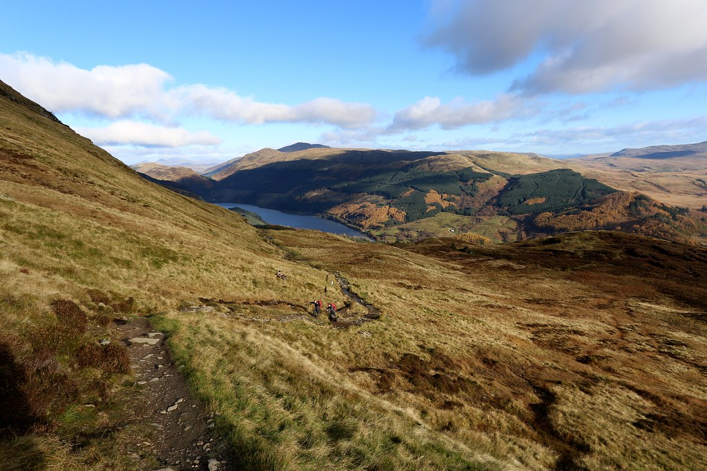 The path above Loch Lubnaig