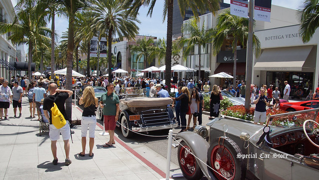 Rodeo Drive Concours d'Elegance 2014