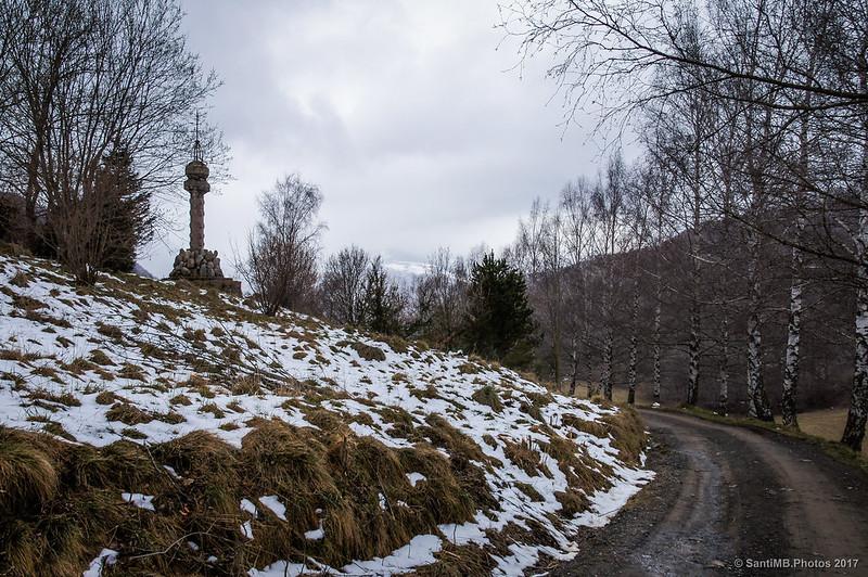 Volviendo hacia la Font del Boix por el camino de Sant Antoni