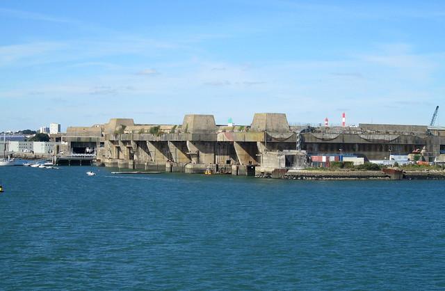 Submarine Pens, Lorient 4