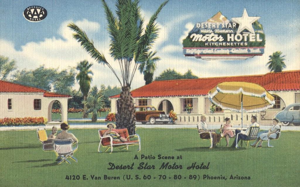 Desert Star Motor Hotel - Phoenix, Arizona