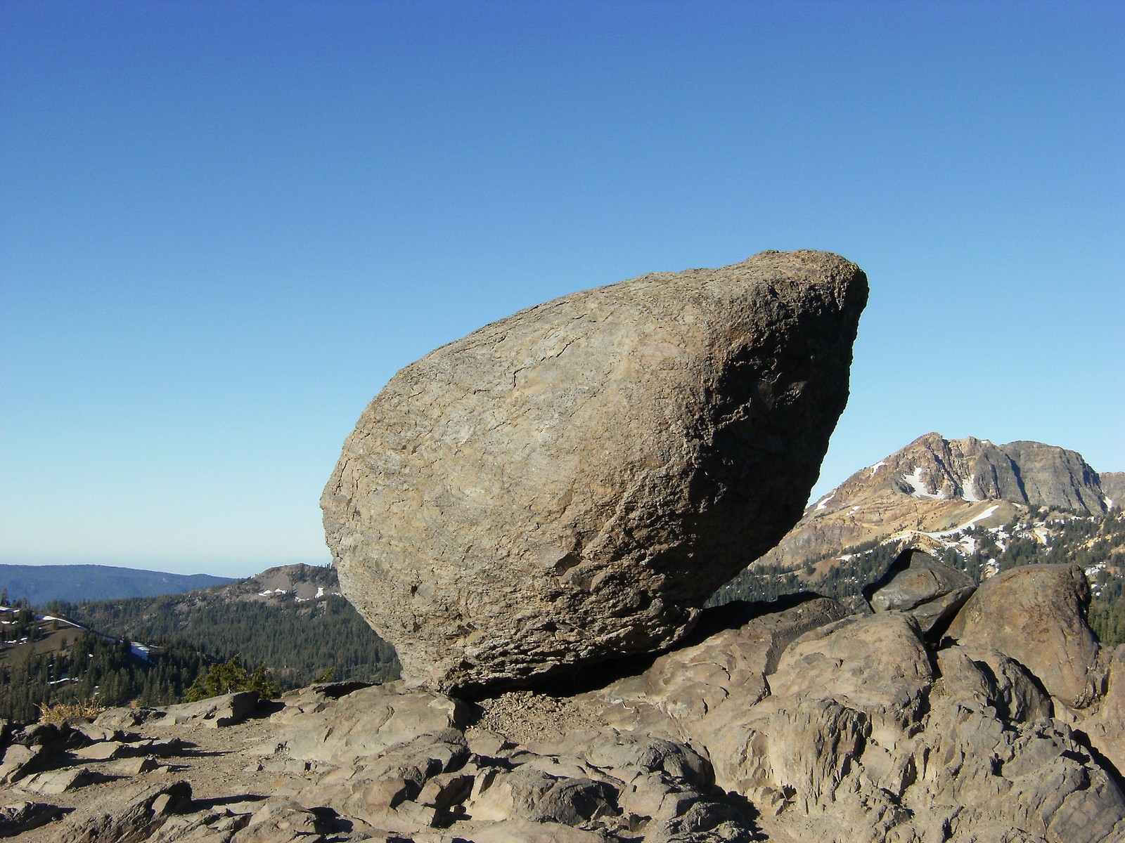 Balanced Rock - Lassen National Park