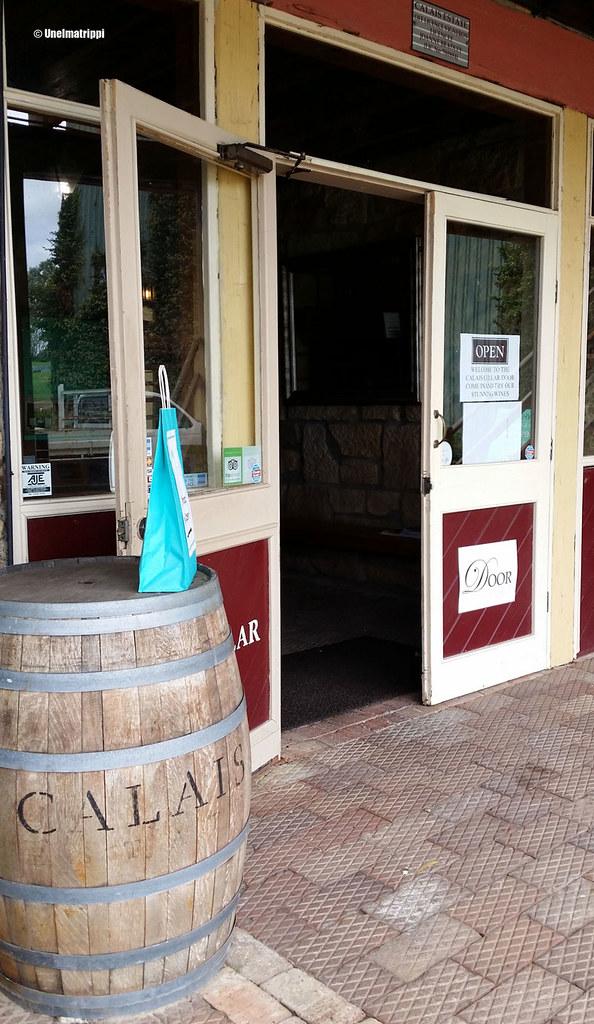 Calais'n viinitilalla Hunter Valleyssä Australiassa