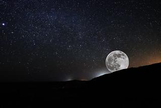 Moon Rise St Simons Island Ga