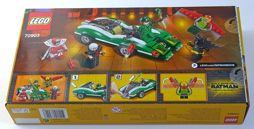 LEGO The Batman Movie 70903 The Riddler Riddle Racer 02
