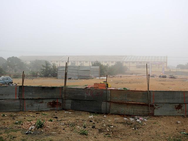 सीता सागर की जमीन पर बना सरकारी वेयर हाउस