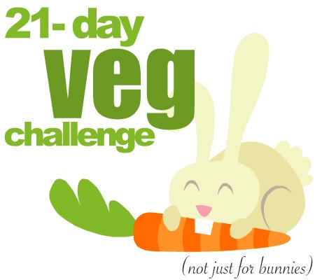 21 day vegetarian challenge
