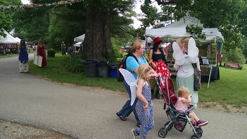 At the #marylandfaeriefestival