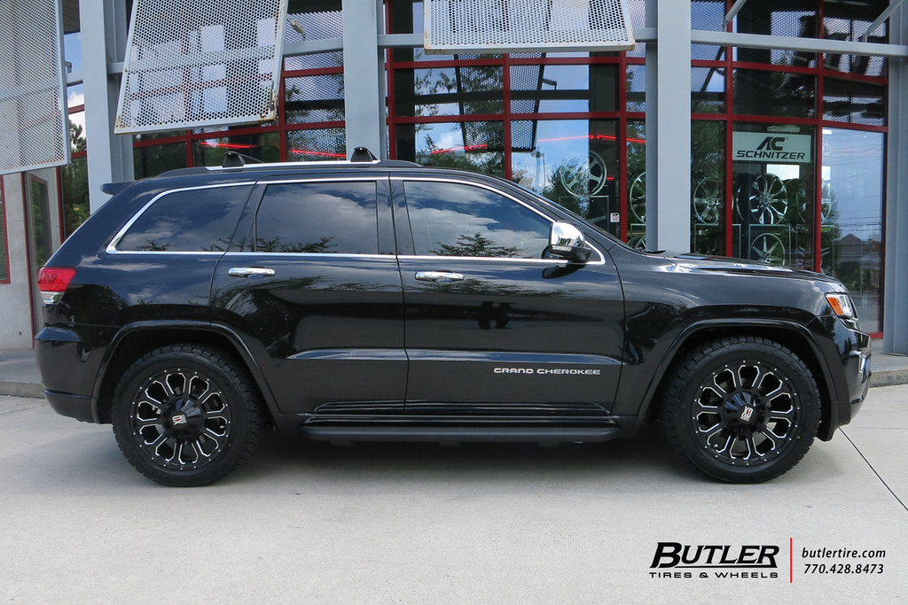 ... Jeep Grand Cherokee With 20in XD 806 Bomb Wheels | By Butler Tires And  Wheels