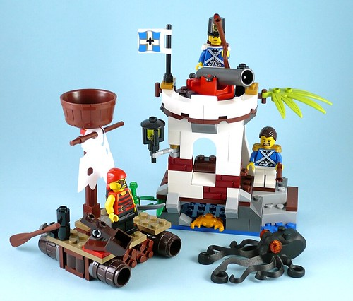 LEGO Pirates 70410 Soldiers Outpost 09