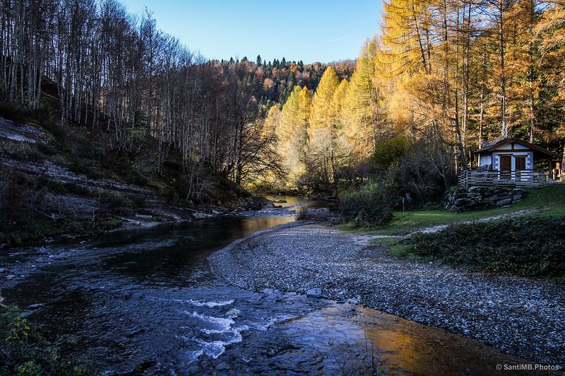 El nacimiento del río Irati