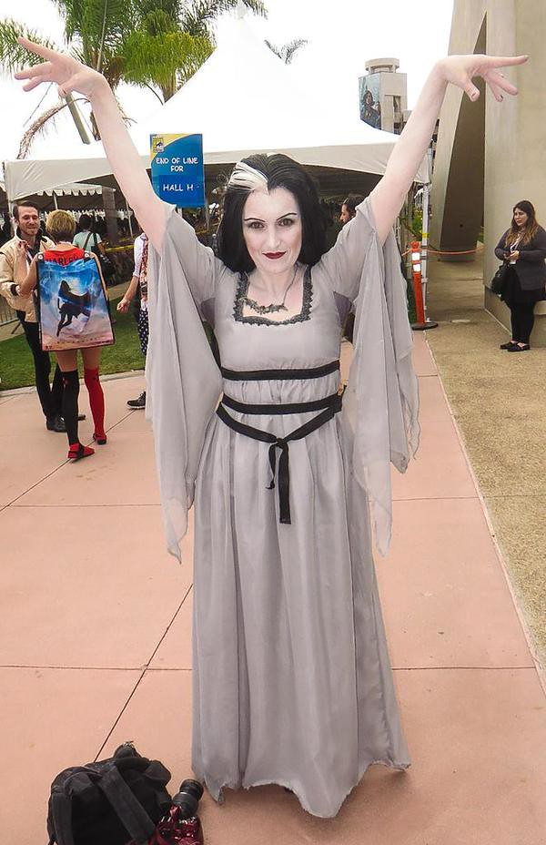 San Diego Comic-Con 2015 Cosplay - Lily Munster