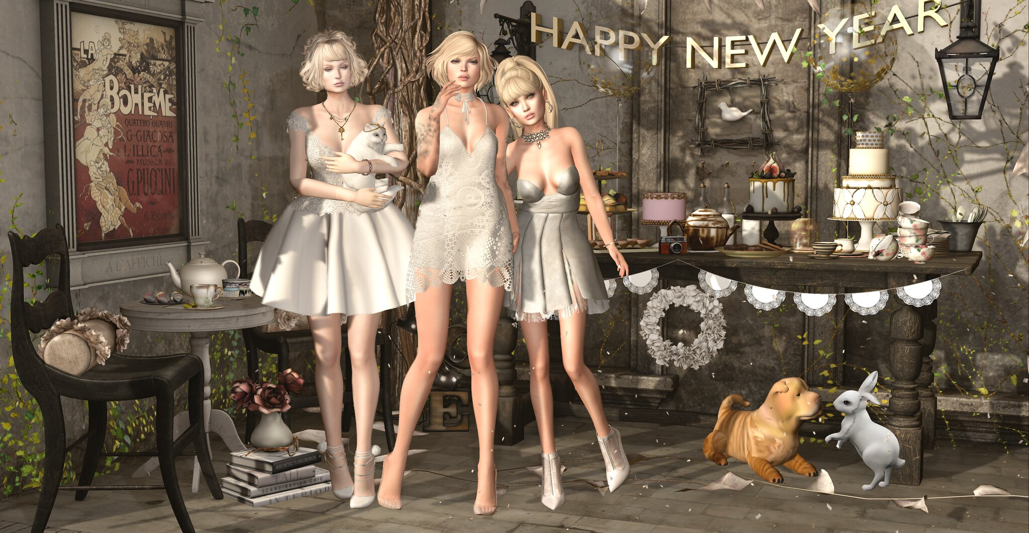 Happy New Year ♥ (Credits soon)