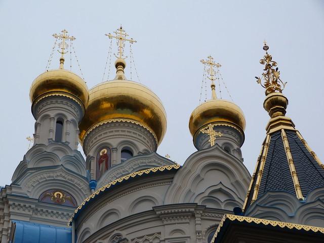 Iglesia ortodoxa rusa de Pablo y Pedro en Karlovy Vary (República Checa)