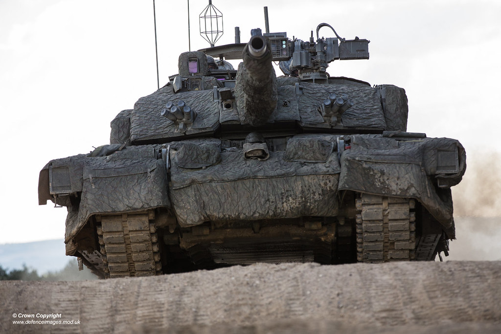 Challenger 2 Megatron Pictured Is The Uk Main Battle