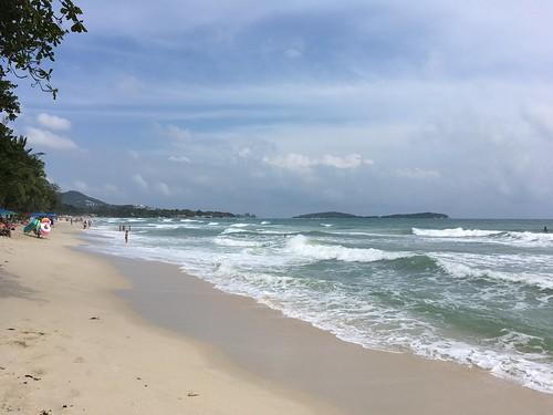 今日のサムイ島 1月22日 チャウエンビーチ