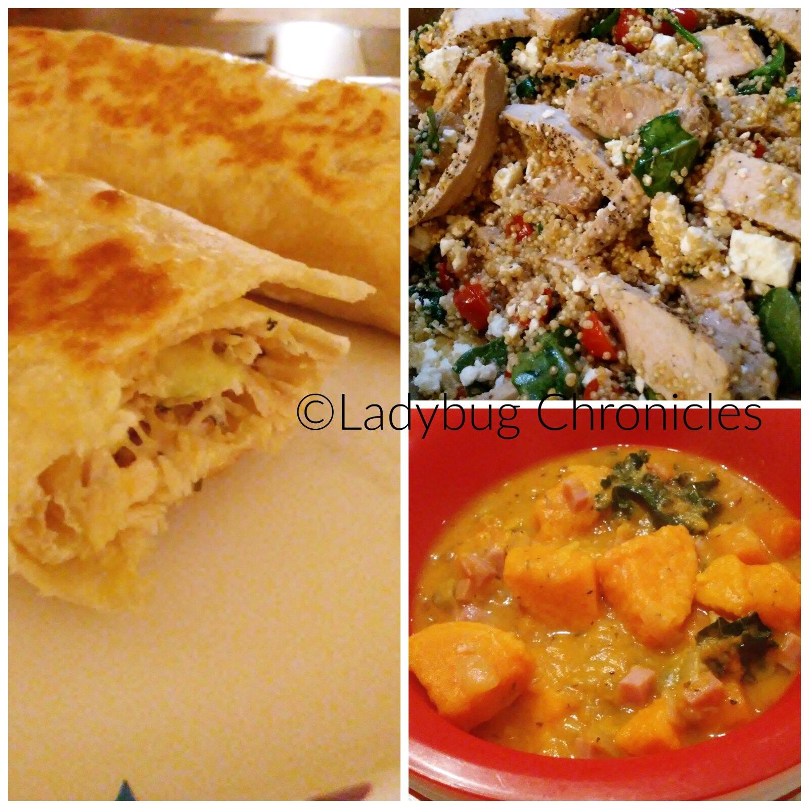 week 1 food collage