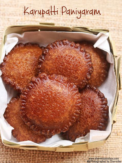 Karupatti Paniyaram Recipe