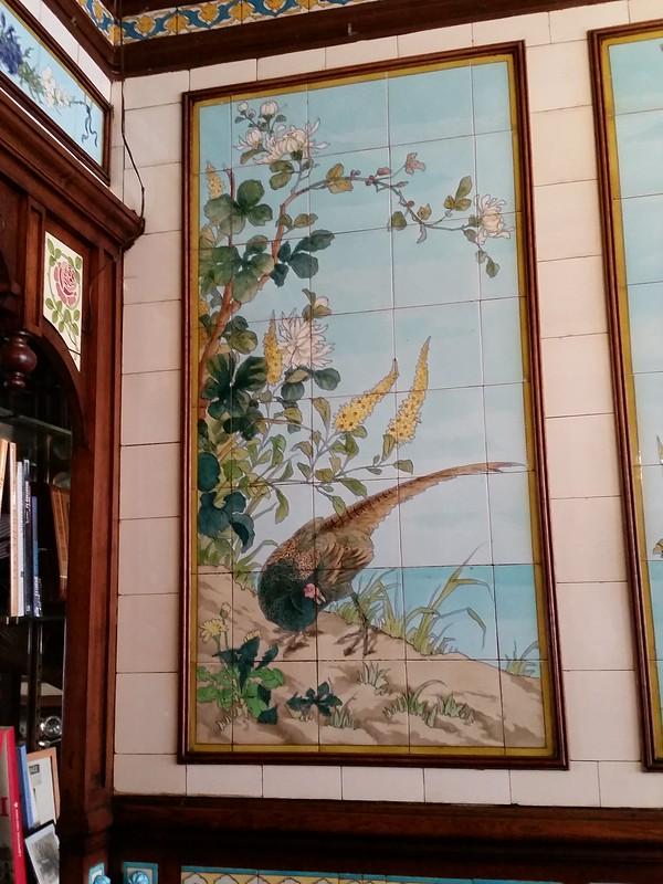 C-G pheasant tile