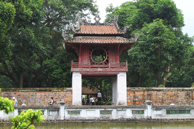 Khuê Văn Các - Constellation of Literature pavilion, Văn Miếu - Temple of Literature, Hà Nội