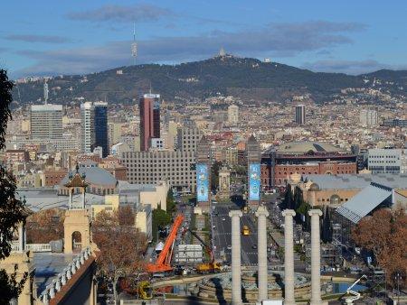 Obiective turistice Barcelona montjuic