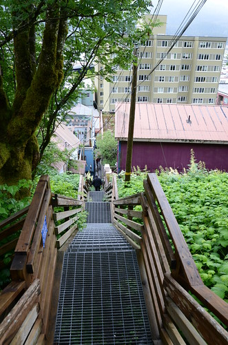 Juneau stairs