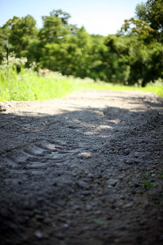 Crushed Concrete Driveway For the Farm - A Cheaper Alternative