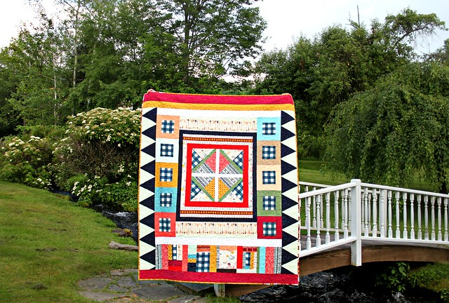 Folk Medallion Quilt