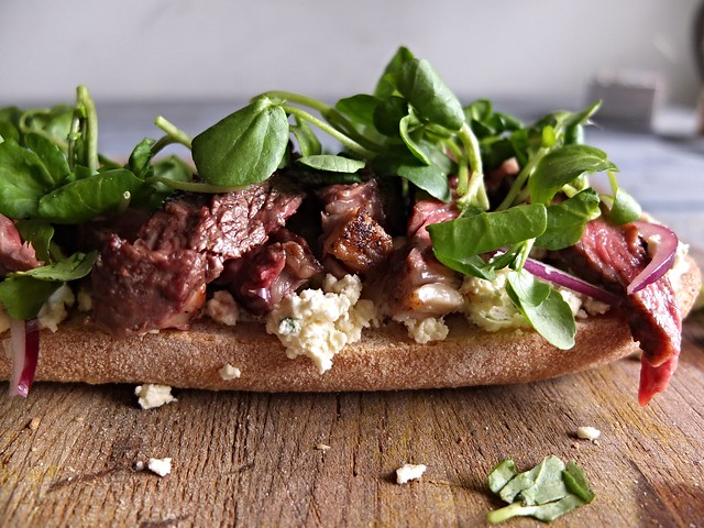 Steak and Boursin Sandwich