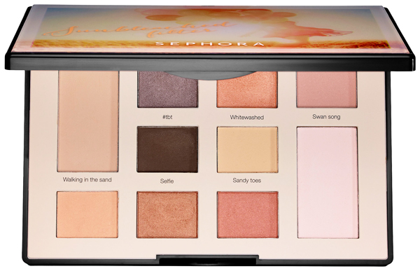 Sephora Collection Colorful Eyeshadow Photo Filter Sunbleached Palette