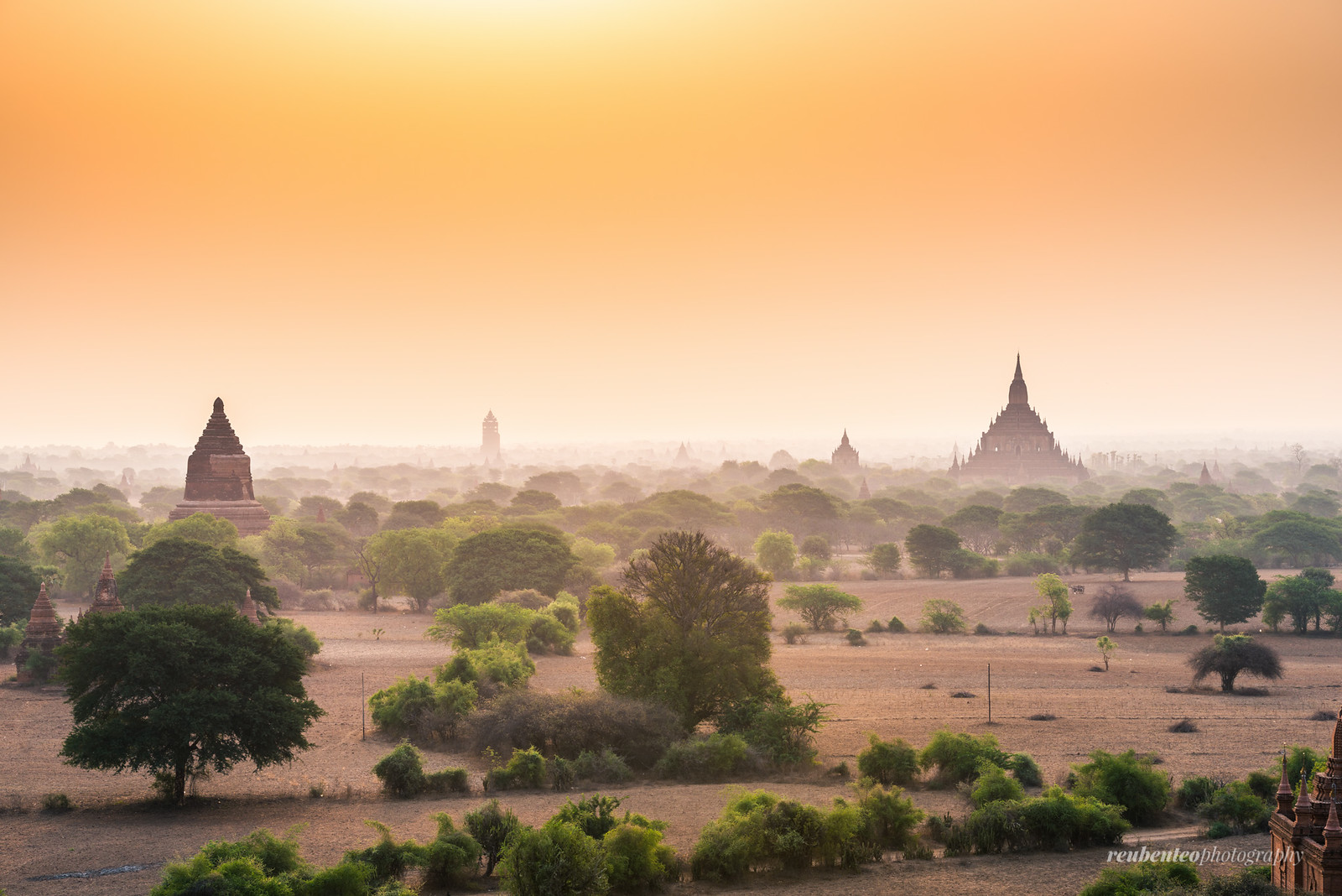 Bagan Early Morning Mist