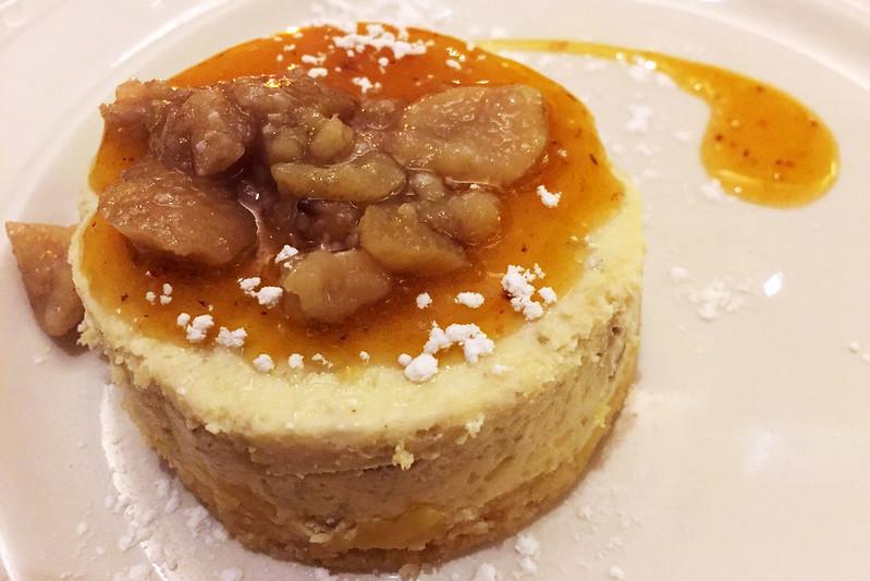 Chestnut cheesecake