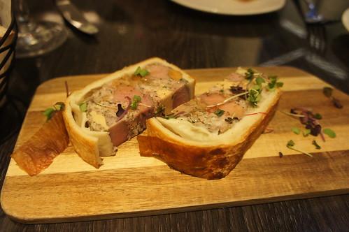 Veal and Foie Gras en Croûte