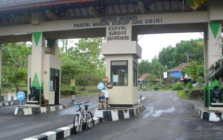 gerbang retribusi