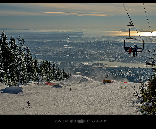 The Peak of Vancouver, BC, Canada