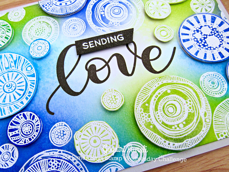 Sending Love closeup