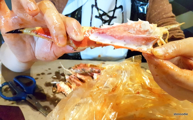 King Crab Legs close-up