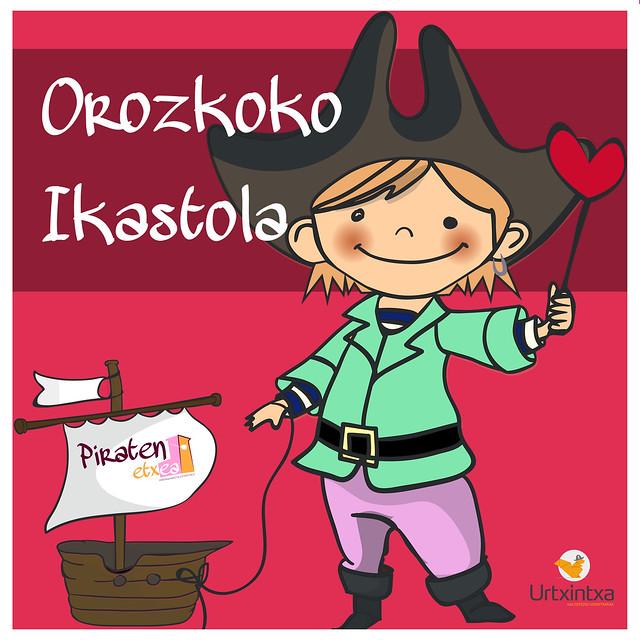 Pirata egonaldiak- Orozkoko ikastola 2017/01/10- 2017/01/12