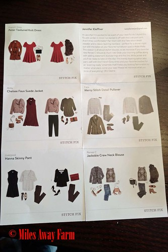 Stitch Fix styling suggestions