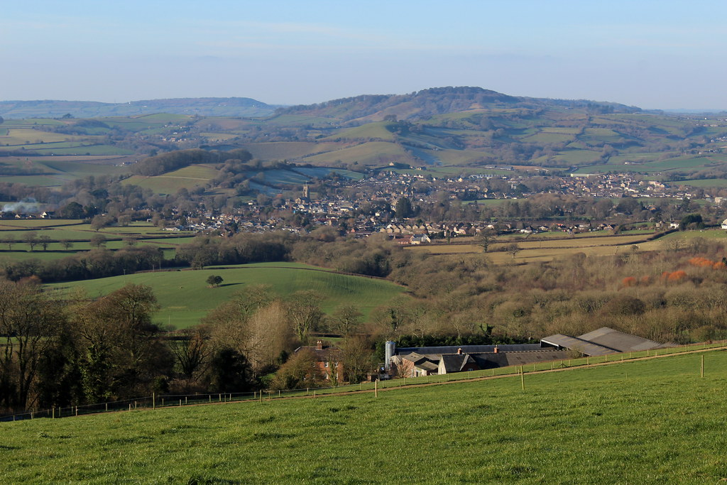 Beaminster From The East