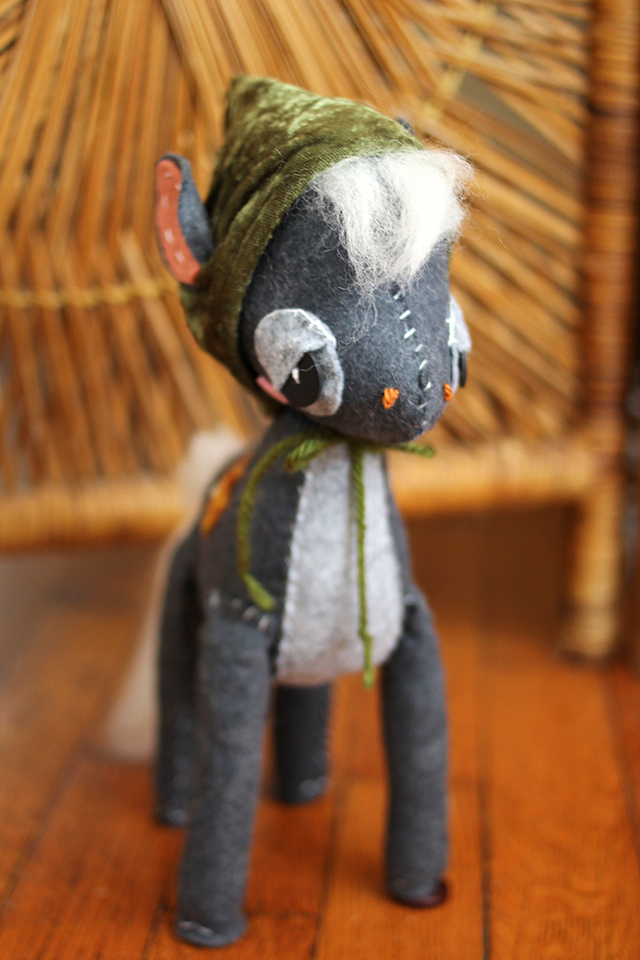 Plush Horse by Skunkboy Creatures