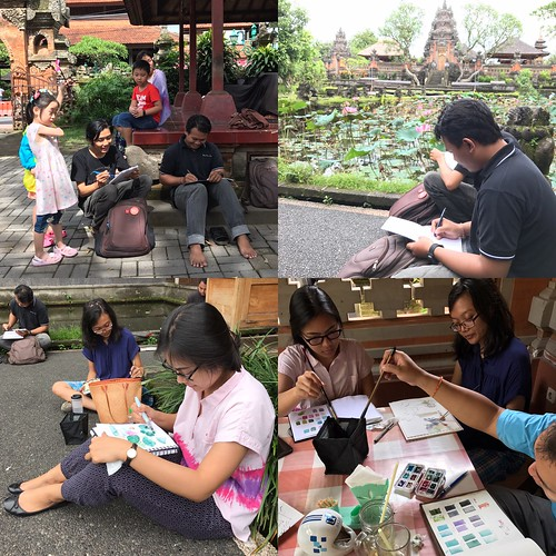 USK Bali sketchers