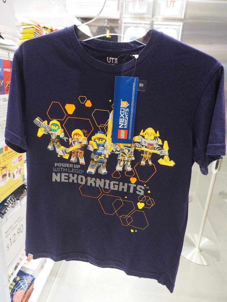 LEGO Uniqlo T-Shirts 2017