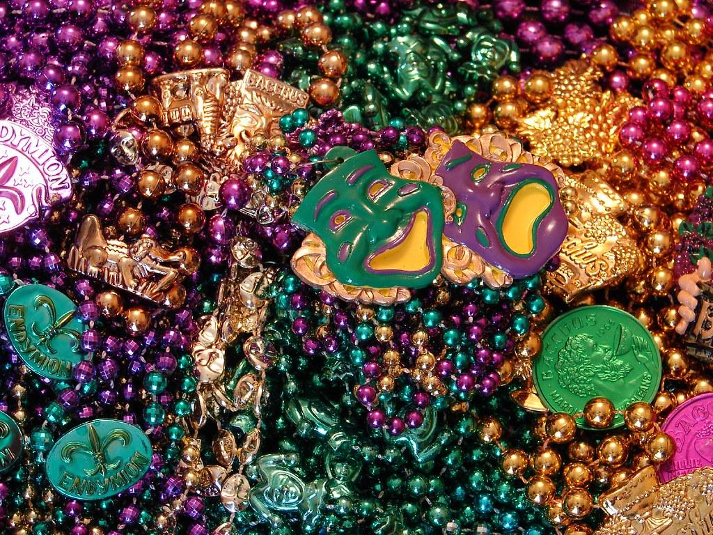 Mardi Gras Beads | Mark Gstohl | Flickr