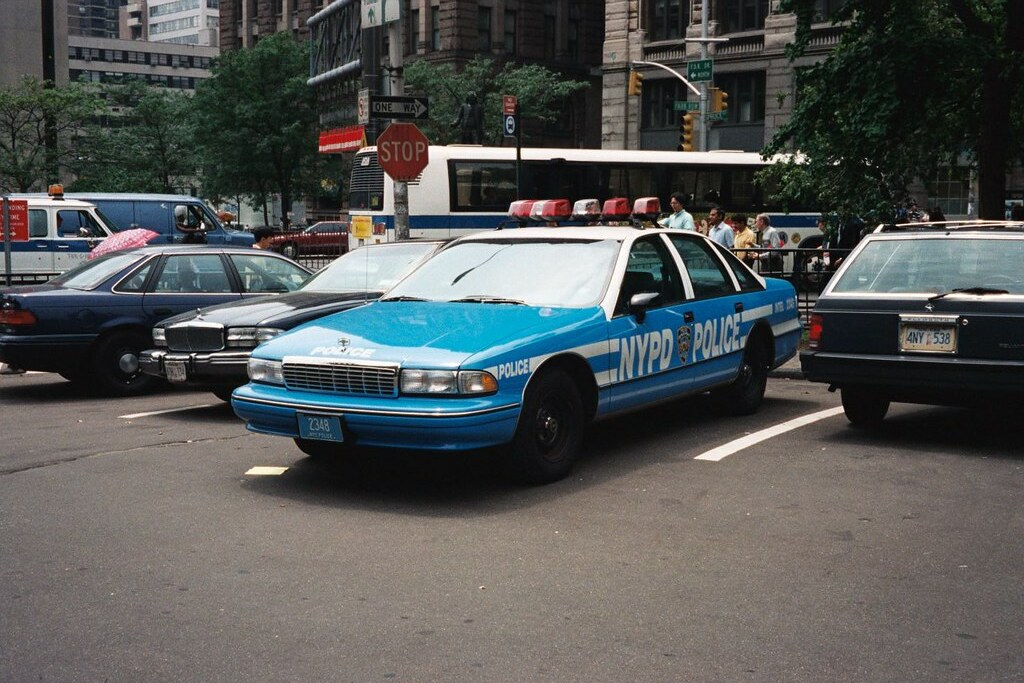 Police Car For Sale >> NYPD Caprice RMP at City Hall, 1990s | NYPD Caprice Classic … | Flickr